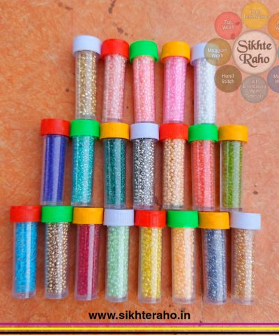 20 Color Seed Beads Pack With Plastic Box 10/0 (2mm )