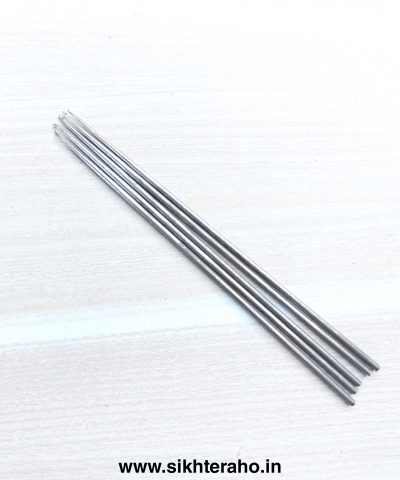 Iron Needle For 3 Wire Thread 0.6mm ( Pack of 5 Needles )